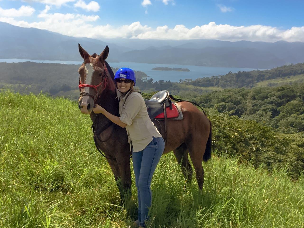 Pacos Horses Tour at Mistico Park.