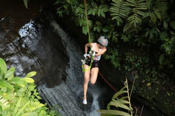 Spider Monkey Canyoning Tour