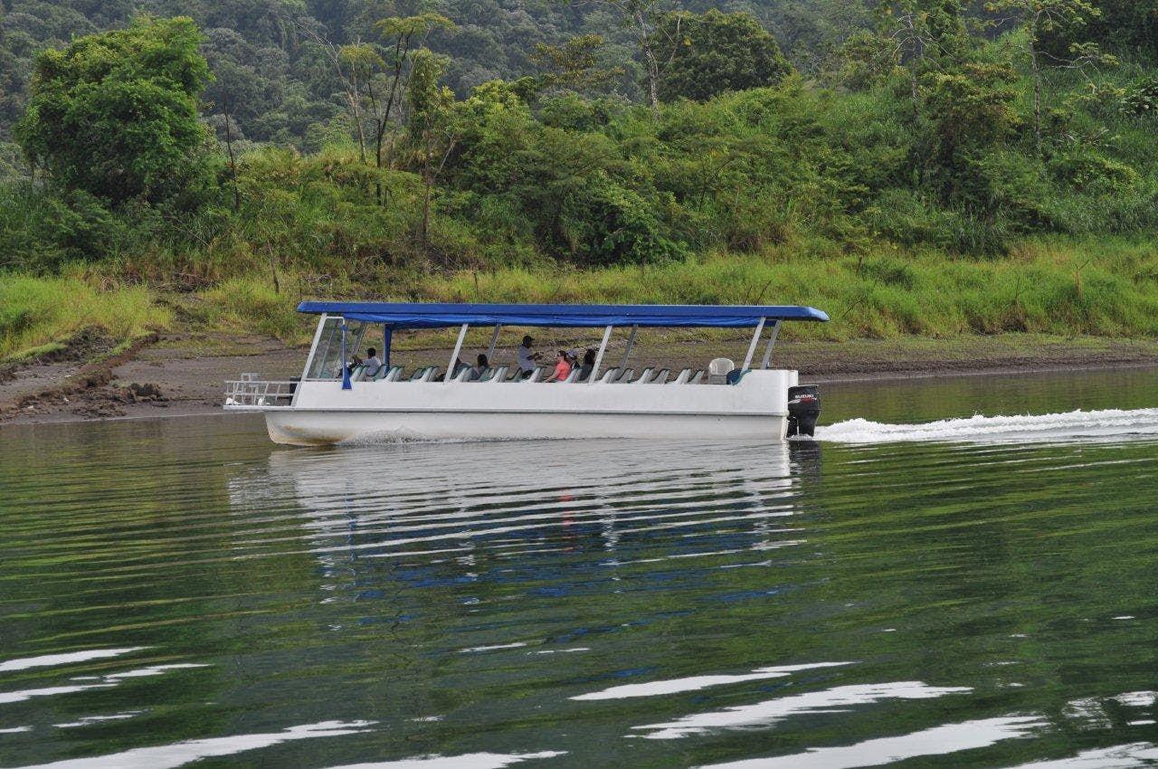 Boat Tour at Arenal Lake Costa Rica.