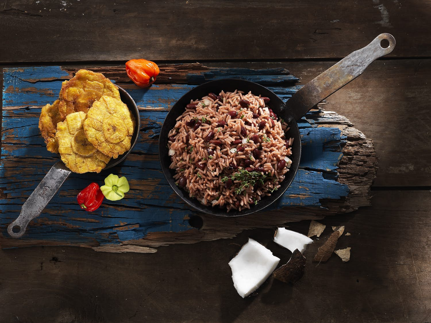 Costa Rica Typical Food: Gallo Pinto.