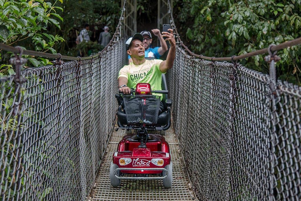 Accesible Tours at Mistico Park.