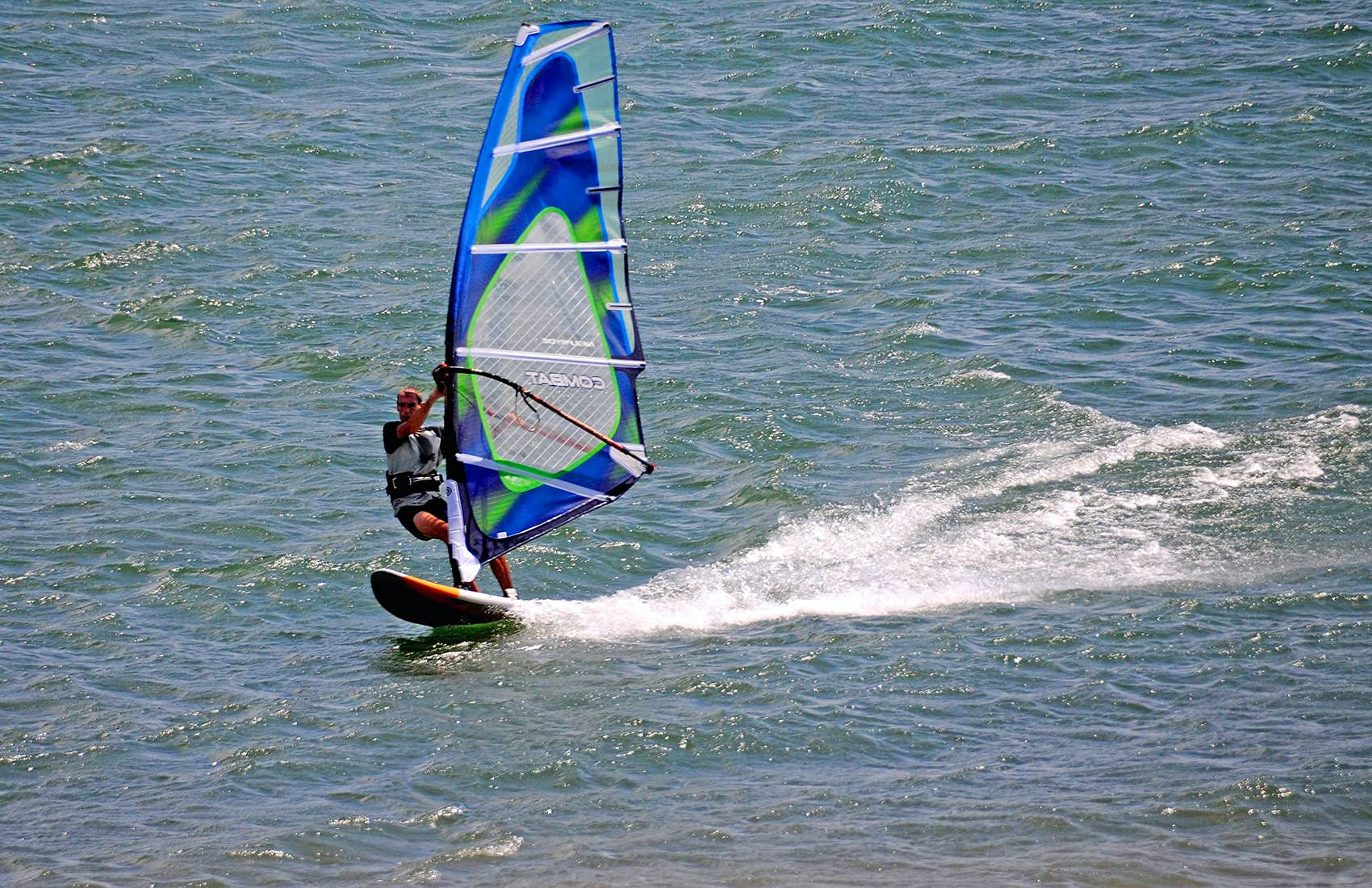 Wind Surfing in Arenal Costa Rica