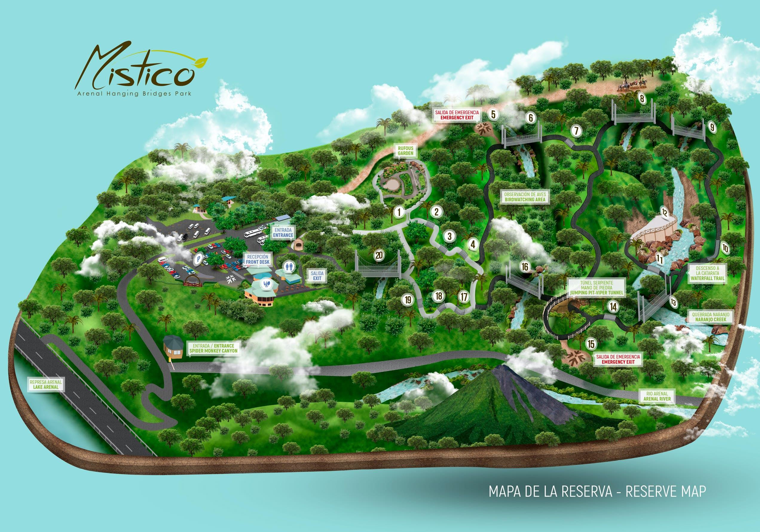Mistico Map